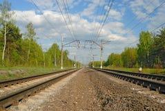 Ferrovia fotografia stock