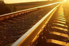 Ferrovia Fotografie Stock Libere da Diritti