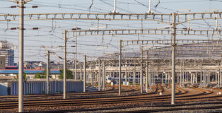 Ferrovia ad alta velocità Fotografia Stock Libera da Diritti