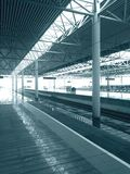 ferrovia ad alta velocità; Fotografie Stock