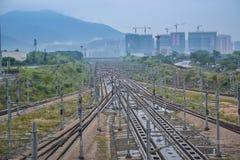 Ferrovia ad alta velocità della Cina Immagine Stock Libera da Diritti