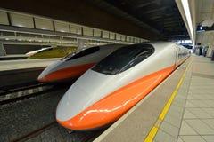 Ferrovia ad alta velocità di Taiwan Fotografia Stock Libera da Diritti