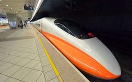 Ferrovia ad alta velocità di Taiwan Immagini Stock