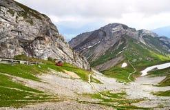 Montagna di Pilatus. La Svizzera Fotografie Stock Libere da Diritti