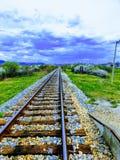 Ferrovia in Boljanic immagine stock libera da diritti