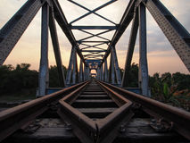 Ferrovia da dirigersi Immagine Stock Libera da Diritti