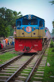Ferrovia del Bangladesh fotografia stock