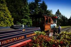Ferrovia del Disneyland Fotografia Stock Libera da Diritti