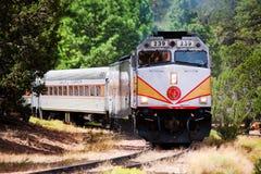 Ferrovia del grande canyon Fotografie Stock Libere da Diritti