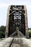 Ferrovia del ponte Fotografie Stock Libere da Diritti