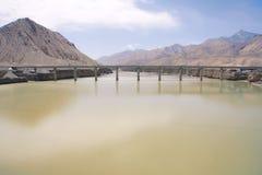 Ferrovia del Qinghai-Tibet Immagini Stock