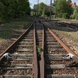 Ferrovia del treno fotografia stock