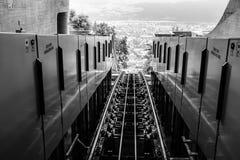 Ferrovia della montagna Immagini Stock