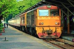 Ferrovia della Tailandia Fotografia Stock Libera da Diritti