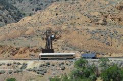 Ferrovia della Virginia del abd di Truckee Fotografia Stock Libera da Diritti