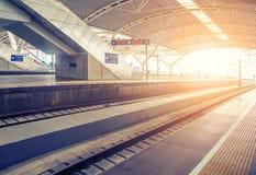 Ferrovia di alta velocità della Cina Immagini Stock