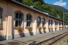 Ferrovia di Bernina Immagini Stock Libere da Diritti