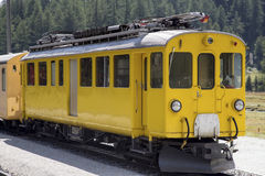 Ferrovia di Bernina Immagine Stock Libera da Diritti