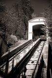 Ferrovia di cavo a Zagabria, Croatia fotografie stock libere da diritti