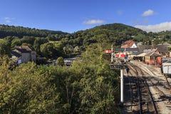 Ferrovia di eredità di Llangollen fotografie stock libere da diritti