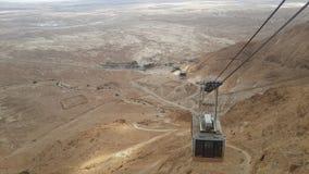 Ferrovia di Masada Immagini Stock