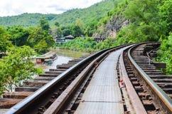 Ferrovia di morte Fotografia Stock