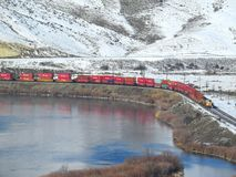 Ferrovia di Pacifico del sindacato Fotografie Stock Libere da Diritti