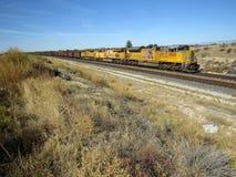 Ferrovia di Pacifico del sindacato Fotografia Stock
