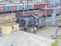 Ferrovia di Pietroburgo Fotografia Stock