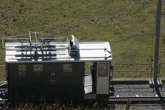 Ferrovia di Schynige Platte Immagini Stock