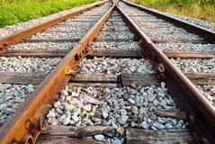 Ferrovia due a successo. Immagine Stock Libera da Diritti