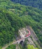 Ferrovia e treno spettacolari Fotografie Stock