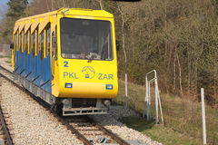 Ferrovia funicolare Fotografie Stock