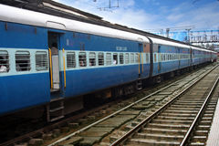 Ferrovia indiana Immagini Stock Libere da Diritti