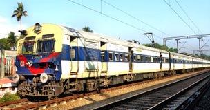 Ferrovia indiana Fotografie Stock Libere da Diritti