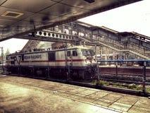 Ferrovia indiana Fotografia Stock Libera da Diritti