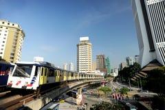 Ferrovia Kuala Lumpur di RapidKL fotografia stock libera da diritti