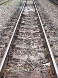 Ferrovia na perspectiva Fotos de Stock Royalty Free