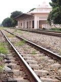 Ferrovia na perspectiva Imagem de Stock
