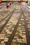 Ferrovia nei bacini di Leith Immagini Stock