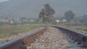 Ferrovia nel parco nel lamphun Immagini Stock