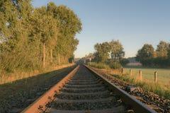 Ferrovia nostálgico imagens de stock royalty free