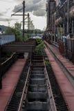 Ferrovia pensionata fotografia stock