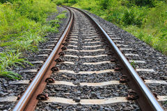 Ferrovia per trasporto fotografie stock
