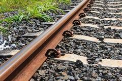 Ferrovia per trasporto fotografie stock libere da diritti