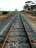 Ferrovia - più alto punto di vista Immagine Stock
