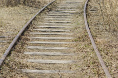 Ferrovia pionieristica Immagine Stock Libera da Diritti