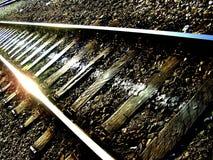 Ferrovia-pista Immagine Stock Libera da Diritti