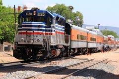 Ferrovia reale dell'itinerario della gola Fotografia Stock