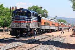 Ferrovia reale dell'itinerario della gola Fotografie Stock Libere da Diritti